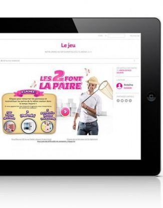 Jeu en ligne - Communication digital - Agence CMM
