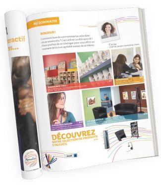 Exemple catalogue page intérieure
