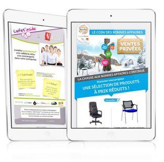 Exemple de newsletters en responsive design