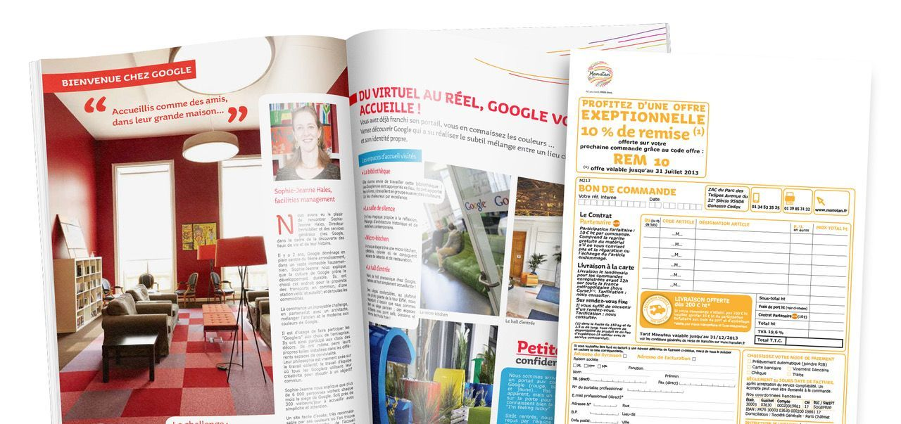 Agence marketing direct - Création catalogue
